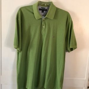Tommy Hilfiger Polo Shirt Green Large